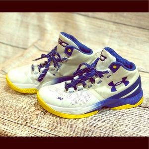 UA Curry 2 Sneakers Boys Size 6.5